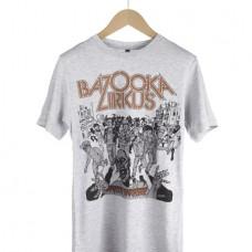 Bazooka Zirkus Shirt Zombie Kill Grau
