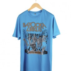 Bazooka Zirkus Shirt Zombie Kill Blau