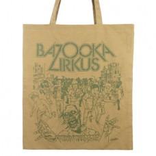 Bazooka Zirkus Shirt Zombie Tasche Braun